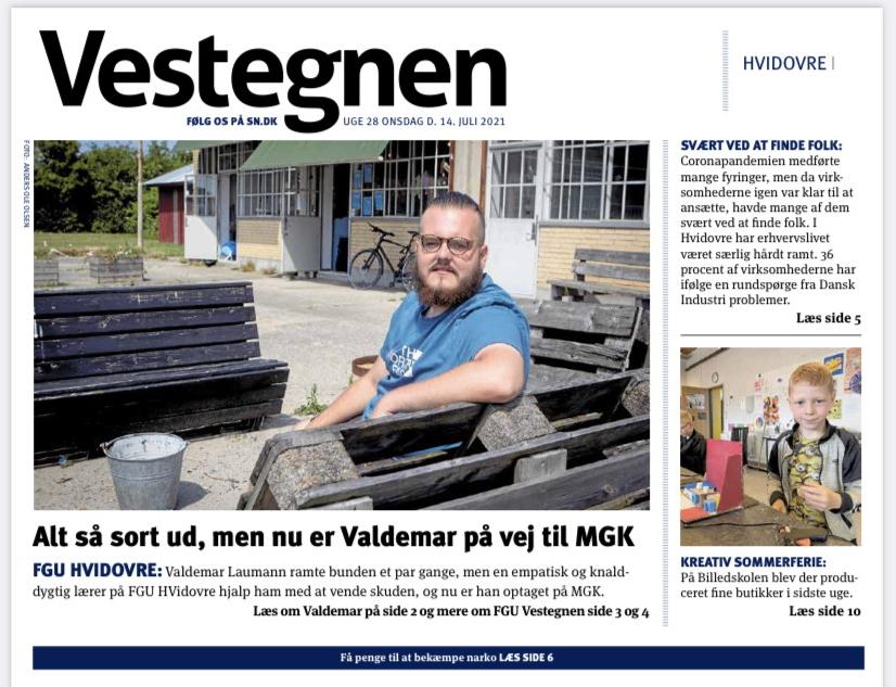 FGU Vestegnen i avisen